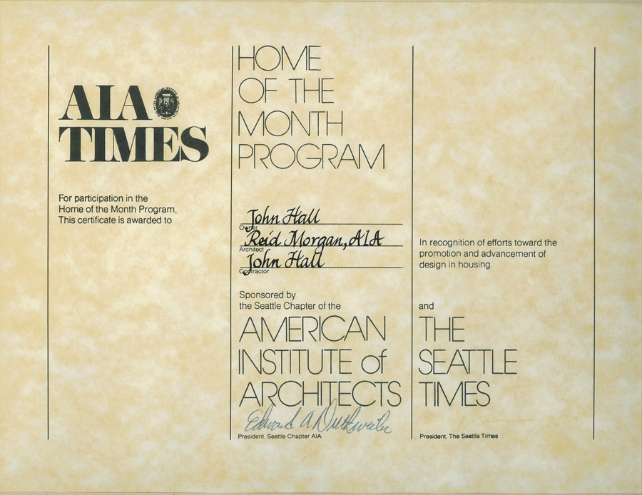 John Michael Hall Corporation - Publications/Awards